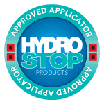 "Approved Applicator. for Hydro Stop ""Bettin Consruction"""
